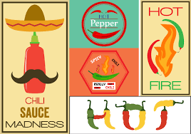 sriracha bottle vector pepper label free vector art 8508 free downloads