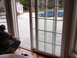 how to secure sliding glass door installing sliding patio doors image collections glass door