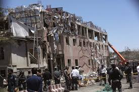 an afghan hounded by his past massive bombing in diplomatic area of kabul kills scores
