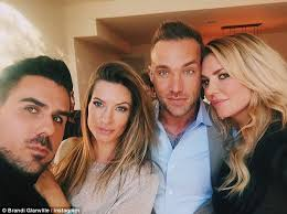 brandi glanville hair extensions brandi glanville attends real housewives party amid claims she s
