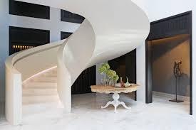 Corian Cameo White Corian Staircase Design White By Techno Surfaces Staircase