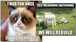 Melbourne Earthquake Meme - 2012 in review closing the curtain on another amazing year that was