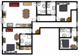 plan appartement 3 chambres appartement casa leonardo venise location rialto