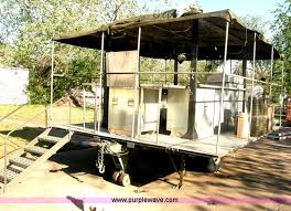 Kitchen Trailer For Sale by Us Military Mkt 85 Portable Field Kitchen Trailer Item H72