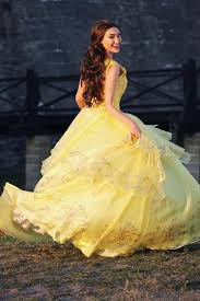 p210 cosplay beauty beast princess belle costume tailor