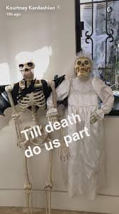 kourtney kardashian throws epic halloween party