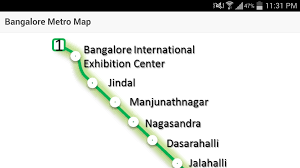 Green Line Metro Map by Bangalore Metro Map Android Apps On Google Play