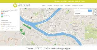Pittsburgh Neighborhood Map Lots To Love Reclaiming Vacant Lots In Allegheny County
