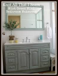 Mint Green Bathroom by Our Bathroom Restyled