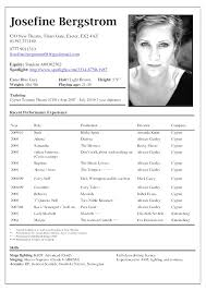 actors resume template creative theater actor resume template psychology undergraduate