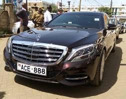 bentley kenya president uhuru gives chris kirubi a run for his money as he