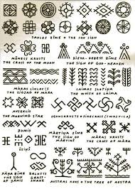 traditional latvian motifs so much overlap with moroccan and