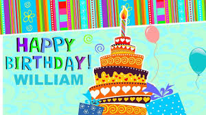 william animated cards happy birthday