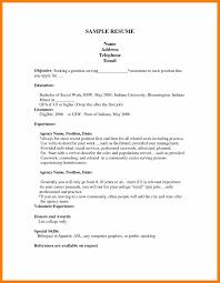 Biology Resume 6 Student Resumes For First Job Biology Resume