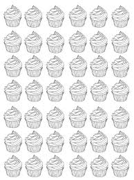 cupcake coloring pages to print 43 best coloring images on pinterest coloring books