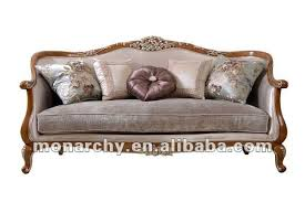 Vq  New Antique French Style Wooden Sofa Design Buy - Antique sofa designs