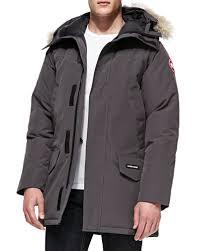 canada goose langford parka graphite medium jacket