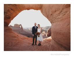wedding arches national park alexi hubbell photography durango colorado wedding and boudoir