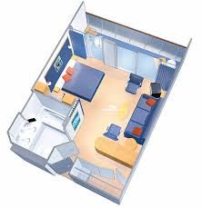 liberty of the seas grand suite 1 bedroom category these