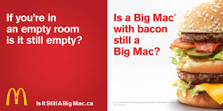 fast cuisine big mac mcdonald s poses the existential question is a big mac with bacon