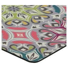 teal medallions kitchen floor mat rug 18