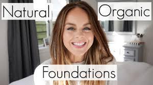 top 5 favourite natural u0026 organic foundations non toxic makeup
