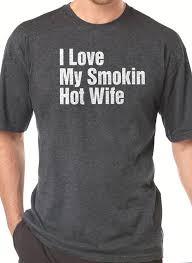 christmas gift i love my smoking wife t shirt mens t shirt