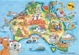holiday greeting card australia by richard galbraith holidays
