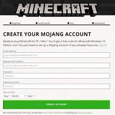 ready prepaid card mojang redeeming a prepaid card or gift code