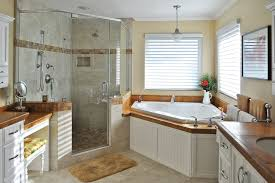 neat bathroom ideas bathroom magnificent spa bathroom decor idea with corner tub and