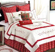Red Bedroom Comforter Set Christmas Twin Bed Comforter Christmas Bed Comforter Set Christmas