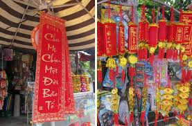 Tet Vietnamese New Year Decorations by Taking In The Beauty Of Hoi An The Selfish Years