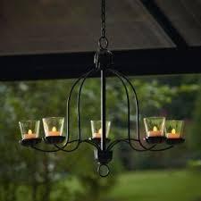 Candle Chandelier Lighting Votive Candle Chandelier Foter