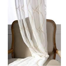 Rideau Salon Moderne by Moderne Broderie Rideau Pour Salon Moderne Coton Vintage Tissu