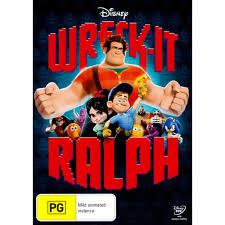 wreck ralph dvd big