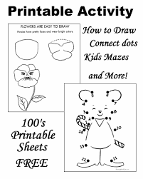 printable activities free fun for kids