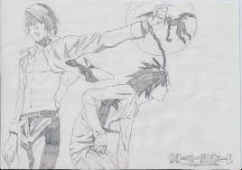 death note drawing by gian93 on deviantart