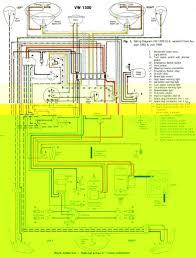 1965 1966 vw beetle 1300 wiring diagram us version u2013 circuit