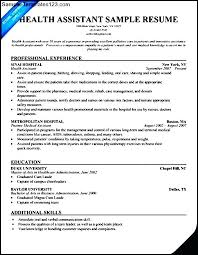 Health Care Assistant Resume Sample Home Health Aide Resume Best Ideas Of Sample Resume Home