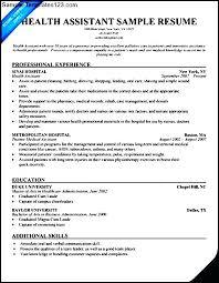 sample home health aide resume u2013 topshoppingnetwork com