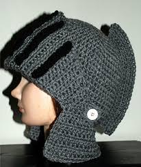 crochet pattern knight helmet free ravelry men s knight helmet hat pattern by amy lehman
