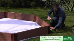 Sandboxes With Canopy And Cover by Frame It All Sandbox Youtube