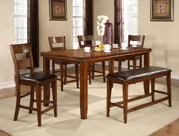 counter height dining table with bench welcome to crownmark furniture pertaining to counter height dining