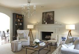 Shabby Chic Fireplace Mantels by White Painted Fireplace Mantel Family Room Contemporary With