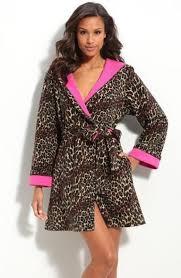 la redoute femme robe de chambre de chambre leopard