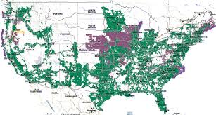 Verizon Coverage Map Oregon by Map Of Us Cellular Coverage 20197 Aouo Us