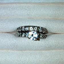5th avenue wedding band saks fifth avenue real silver and austrian crystals wedding band