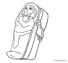 mummy coloring coloringcrew