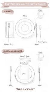 how to set a table for breakfast essentials and etiquette for a swinging spring dinner party place