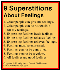 7 common superstitions of therapists about feelings